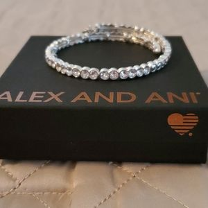 Alex and Ani ❄🎄🎁 Snowbell Wrap Bracelet